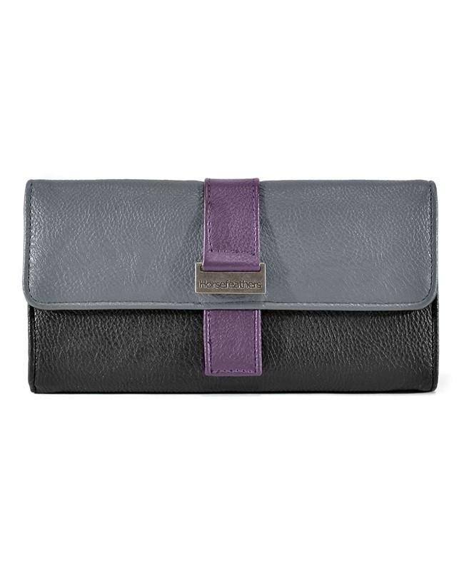 HORSEFEATHERS Horsefeathers peněženka Sassy (purple)