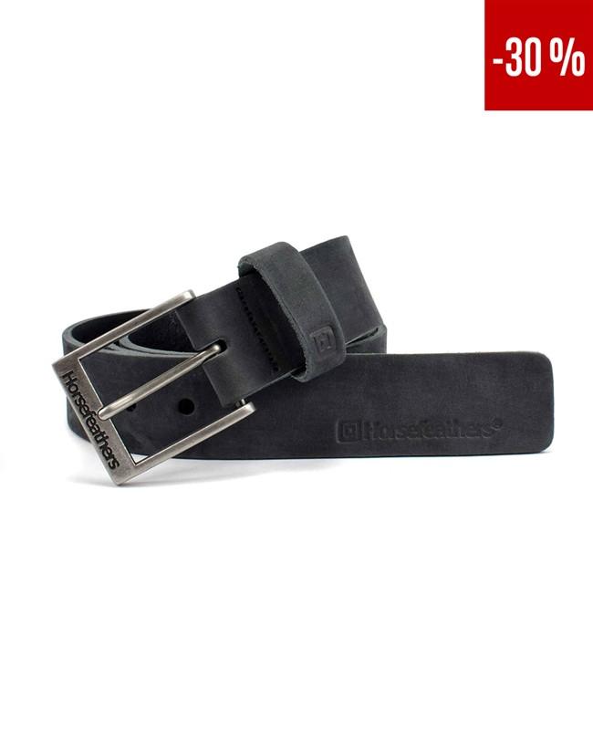 HORSEFEATHERS Horsefeathers pásek Duke (black)