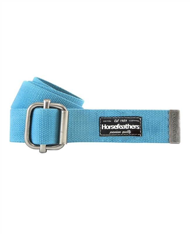 HORSEFEATHERS Horsefeathers pásek Gino (caribbean blue)