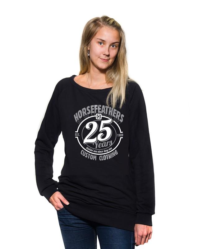 HORSEFEATHERS Horsefeathers mikina 25HF (black) L