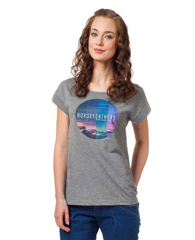 HORSEFEATHERS Horsefeathers top Faraway (heather gray) L